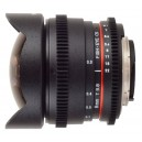 WALIMEX 8 MM T3.8 FISH-EYE II VDSLR (FT)