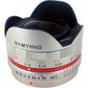 SAMYANG 7,5 MM F3.5 UMC FISH-EYE MSC (Silver)