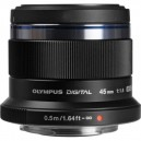 OLYMPUS 45 MM F1.8 ED MSC (Black)